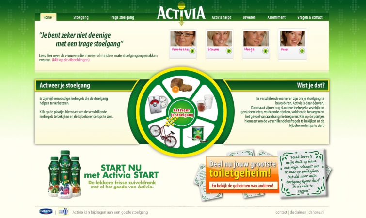 "danone activia case study Although activia's parent company dannon claims the probiotic bacteria in its yogurt can help to relieve digestive issues like constipation, the us federal trade commission fined the while research studies have not proven activia can help to relieve constipation, anecdotal evidence does exist ""there."