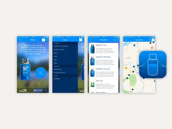Blauwe Gasfles Primagaz.Primagaz Inhoudsmeter App Emerce Eguide