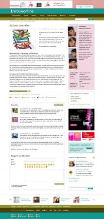 Vrouwonline emerce eguide for Sanoma digital